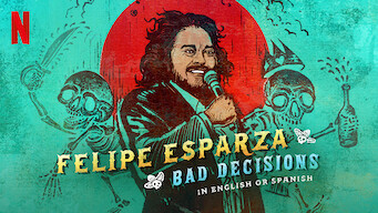 Felipe Esparza: Bad Decisions: Limited Series